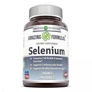 Amazing Nutrition Selenium 200 Mcg 240 Tablets