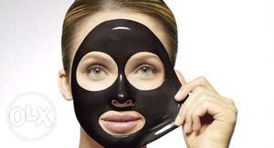 Black head Pore mask easy peel full face. Pick up
