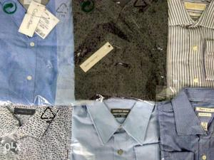 Branded Surplus Men's Shirts for Wholesale (100 pcs minimum)