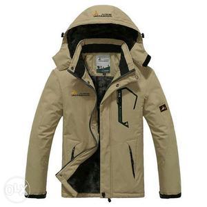 Impoeted Winter Jacket Men thick Windproof Hood