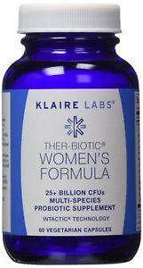 Klaire Labs Ther-Biotic Womens Formula Vegetarian Capsules,