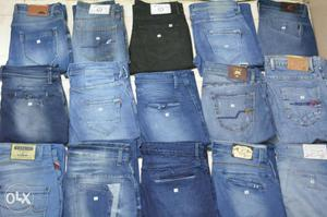 Washed-blue Jeans