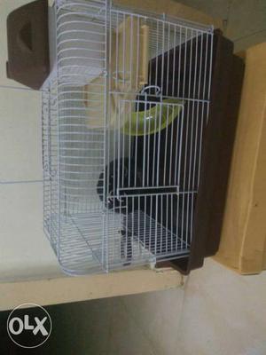 Cage,food,bedding, aquarium