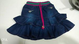 Dress for kids, children in manufacturing
