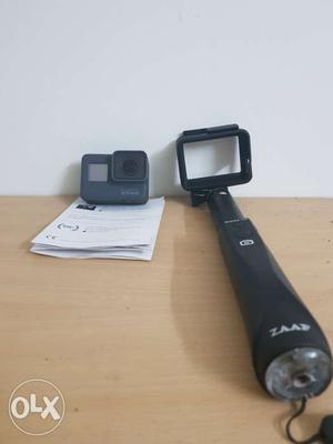 Go Pro Hero 5 with selfie stick and 64 GB memory