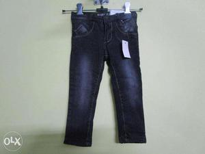 Jeans: Export Quality Kids Stretchable Jeans