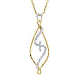 Riva jewels Two Tone 925 silver White CZ Beautiful Fancy