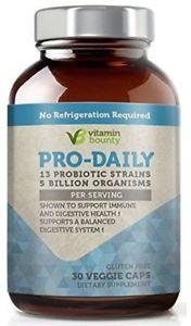 Vitamin Bounty - Pro Daily Probiotic - 13 Probiotic Strains,