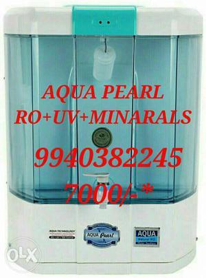 White Aqua Pearl Water Purifier