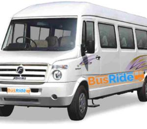 17 Seater AC Tempo Traveller On Rent In Mumbai Mumbai