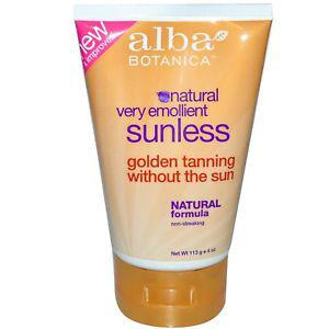 Alba Botanica, Natural Very Emollient, Sunless Tanning