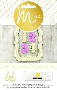 American Crafts 25 Piece Heidi Swapp Minc Jumbo Numbers