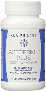 Klaire Labs Lactoprime Plus Scd Compliant Vegetarian
