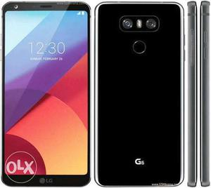 Lg g6 black Just 2 months used 10 months warranty