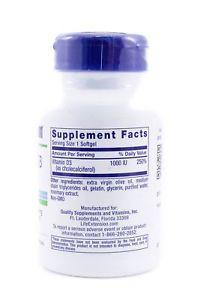 Life Extension Vitamin D IU 250 Softgels