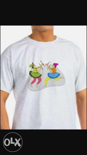 Navratri special t.shirt available.