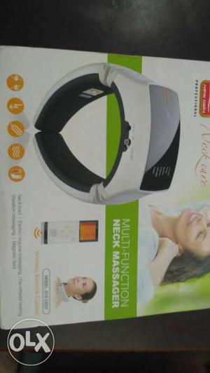 Newly bought multi-function neck massager.