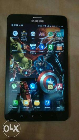 Samsung galaxy jmax tablet with box and bill..