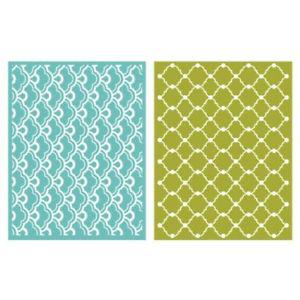 We R Memory Keepers Whimsy Embossing Folder, 2-Pack