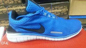 Blue Nike OG shoes Athletic Shoe On Box