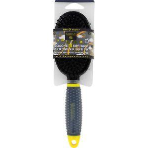 Earth Therapeutics Hair Brush, Scuba, Black