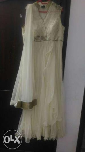 New Salwar top in off white fresh piece