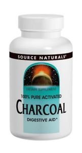 Source Naturals 100% Pure Activated Charcoal 260mg, 200