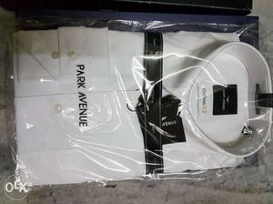 Two white shirts.. 1.Park Avenue..full