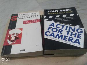 Cinema&T.v Acting learning books in english 22no's