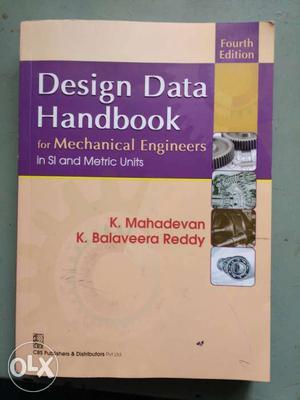 Design Data Handbook For Mechanical Engineers