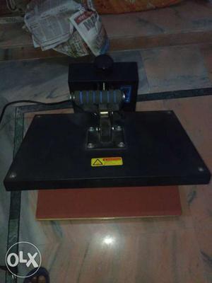 Heat press machine only 100 tshirt press brand new