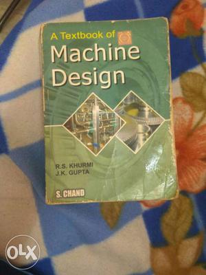 Machine design book needed for DMM-1 & DMM-2