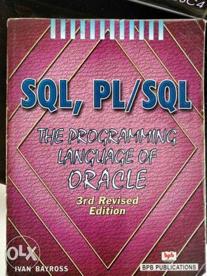 Oracle SQL PL/SQL Ivan Bayross 3rd edition