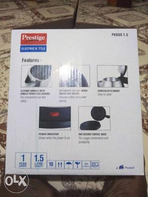 Prestige new electric kettle fixed price