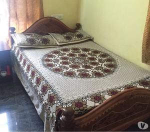 Wooden carved couch bangalore posot class for Wall bed bangalore