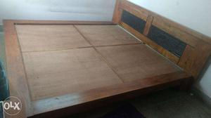 1 Year Old King Size Solidwood HomeTown Bed for sale at best