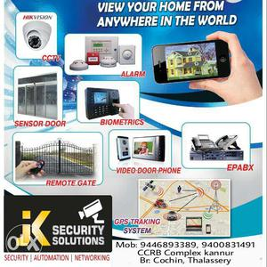 Home security system, gate automation, vdp installation and