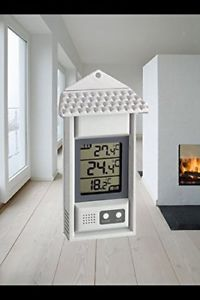 MCP Digital Maxima Minima Room Thermometer & Hygrometer with