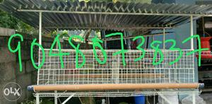 New Hitech poultry cages.24 Hen capacity.urgent