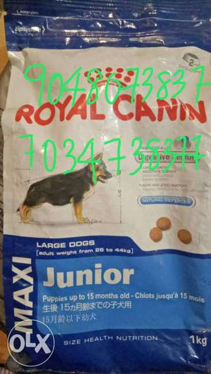 Royal canin dog biscuit 1kg at 25% discount rate