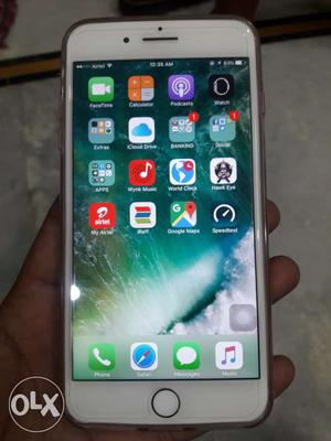 IPhone 7 plus. 3 months old good condition single