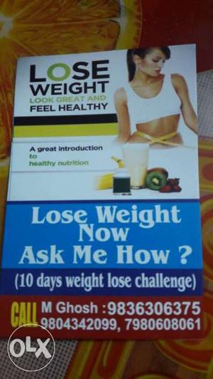 10 days weight lose challenge.