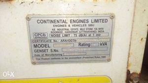 5kva cel make Diesel Generator