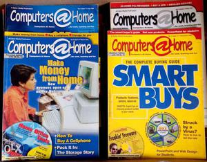 Computers (at) Home Magazines -  to - For Sale -