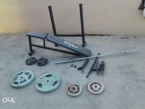 Home gym complete set (less used) super condition