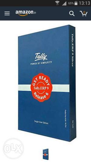 Tally ERP 9 GST Ready Software