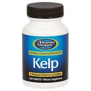 Vitamin Shoppe - Kelp, 125 mg, 300 tablets