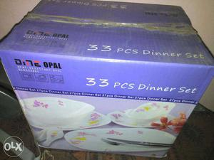 33 Pcs Dinner Set Box