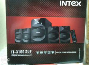 Brand new Intex speaker 4.1 speaker with Fm and