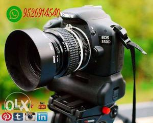 Canon DSLR 550D For RENT With 250mm Lens CALL ME